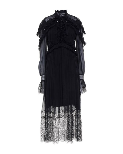 Vestido a media pierna Jonathan Simkhai de color Black