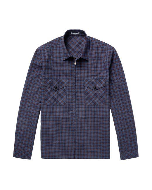 Tomas Maier Camicia da uomo di colore blu