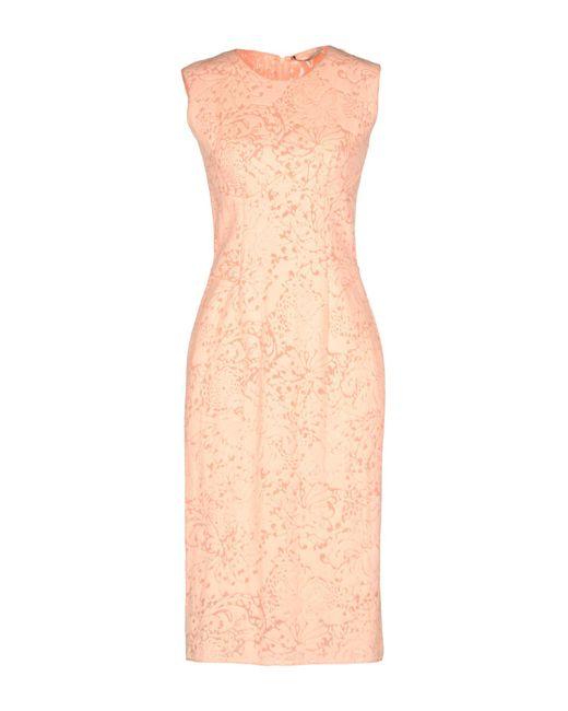 Ermanno Scervino - Pink Knee-length Dress - Lyst