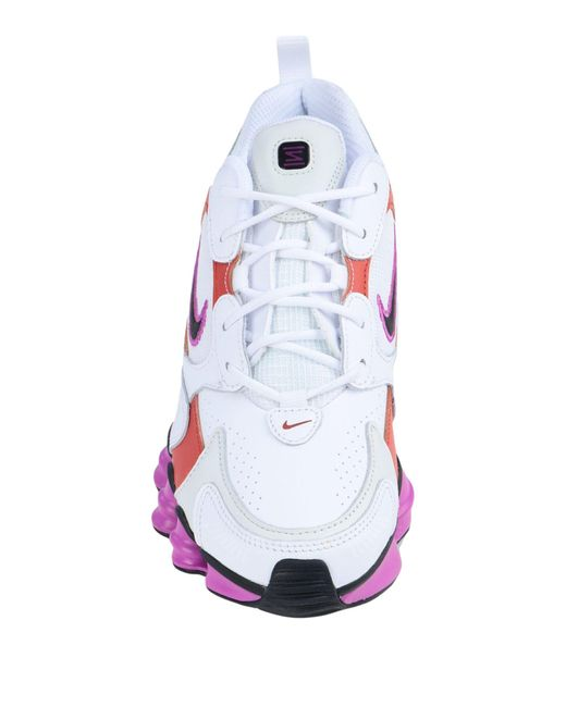 Nike White Low Sneakers & Tennisschuhe