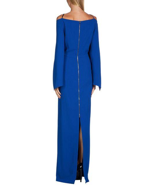 Robe longue Roland Mouret en coloris Blue