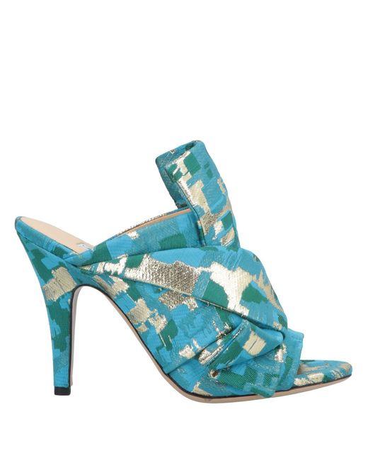 Gianluca Capannolo - Blue Sandals - Lyst
