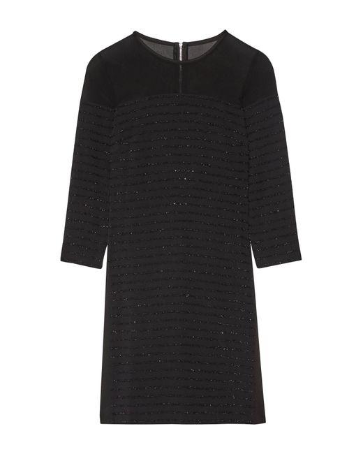 Robe courte Karl Lagerfeld en coloris Black