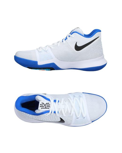 nike high tops trainers in white for lyst