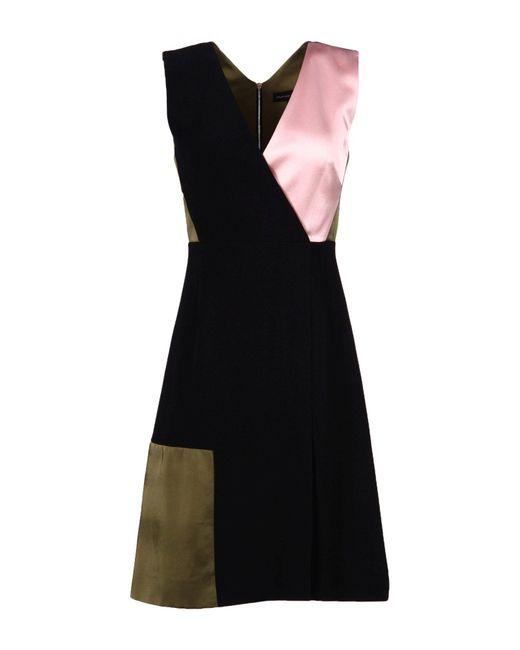 Jonathan Saunders - Black Short Dress - Lyst