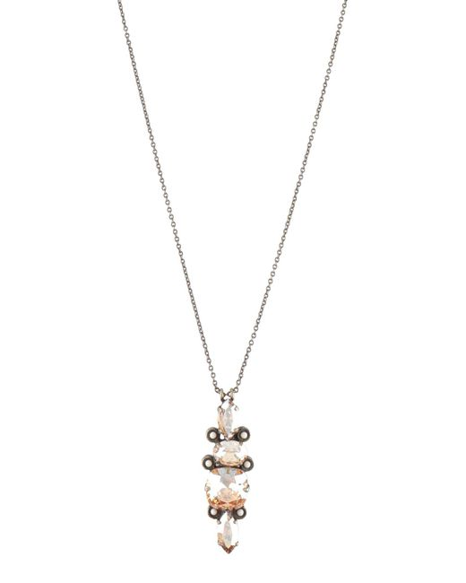 Isabel Marant - Metallic Necklace - Lyst