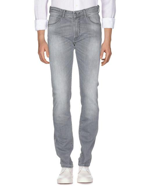 Pantalon en jean Hackett pour homme en coloris Gray