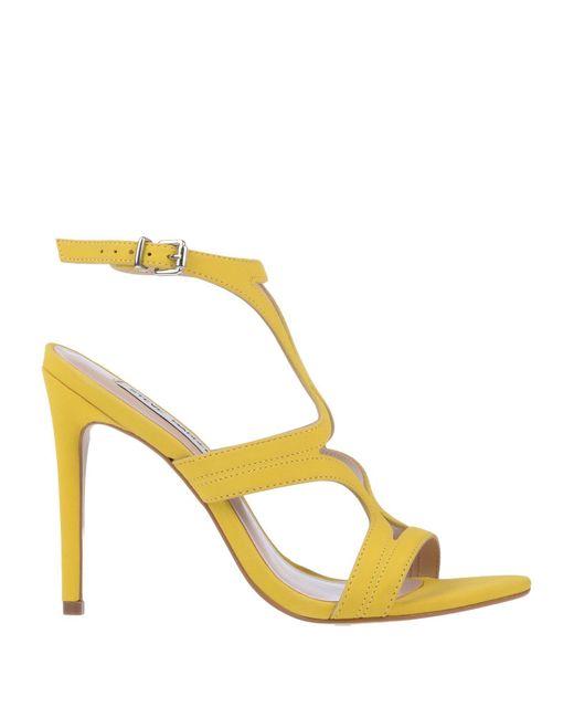 ca3027cdd649 Steve Madden - Yellow Sandals - Lyst ...