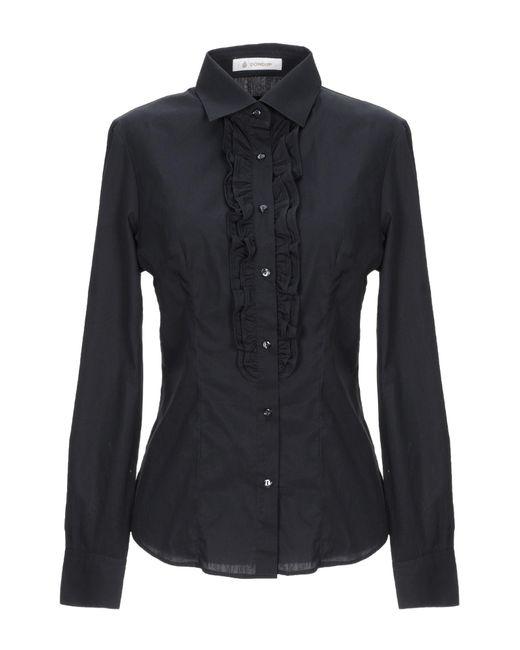 Dondup Camicia da donna di colore nero
