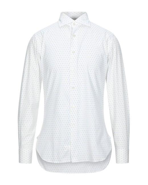 Roda Camicia da uomo di colore bianco