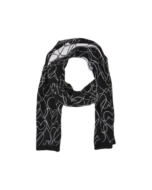 Armani Jeans - Black Scarves - Lyst