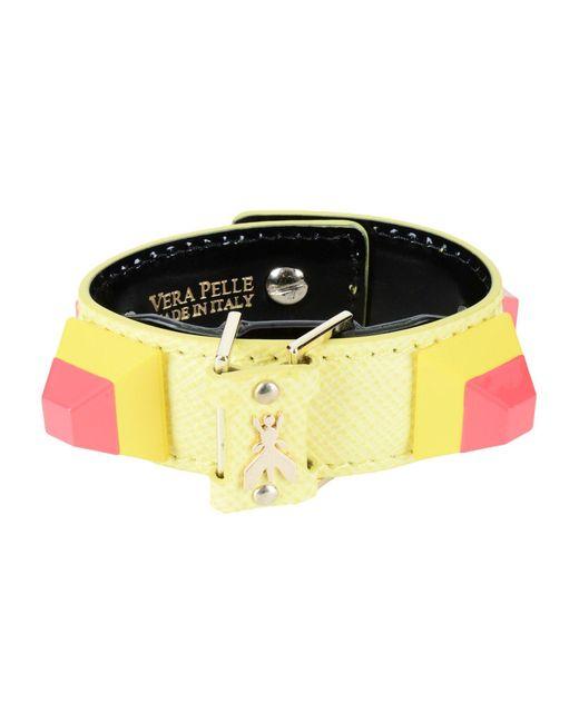 Patrizia Pepe - Yellow Bracelet - Lyst