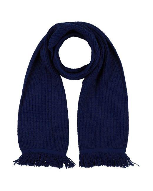 Écharpe Cruciani pour homme en coloris Blue