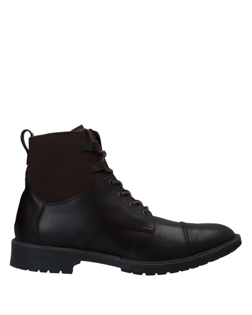 Geox Brown Ankle Boots for men