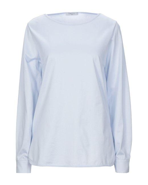 Circolo 1901 T-shirt da donna di colore blu