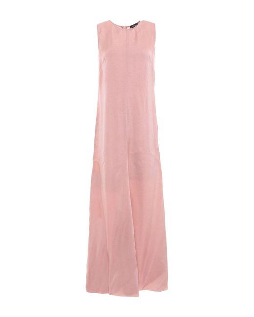 Les Copains Pink Langes Kleid