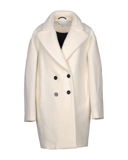Carven - White Coats - Lyst