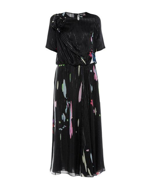 Giorgio Armani Black Long Dress