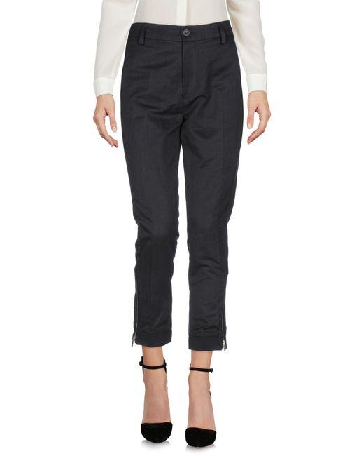 Dondup Gray Casual Pants