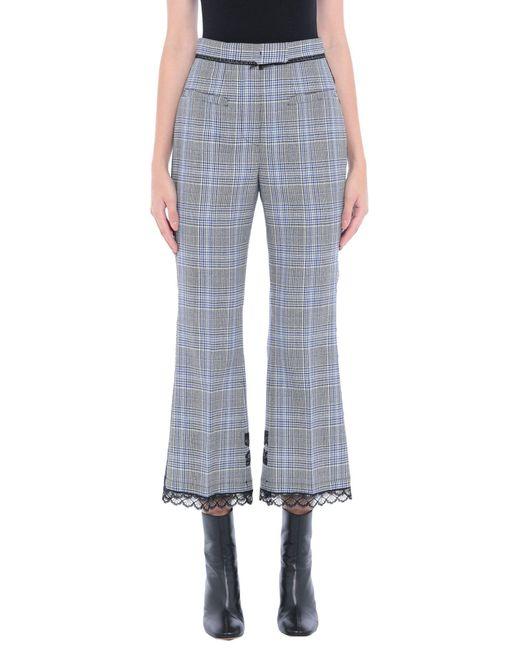 Pantalon MSGM en coloris Blue