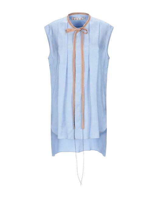 Marni Blue Shirt