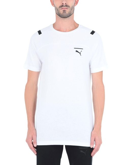 T-shirt PUMA pour homme en coloris White