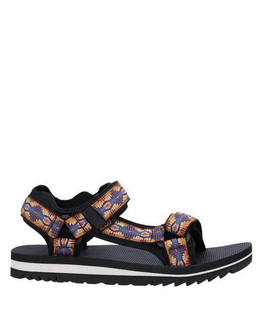 Teva Orange Sandals for men