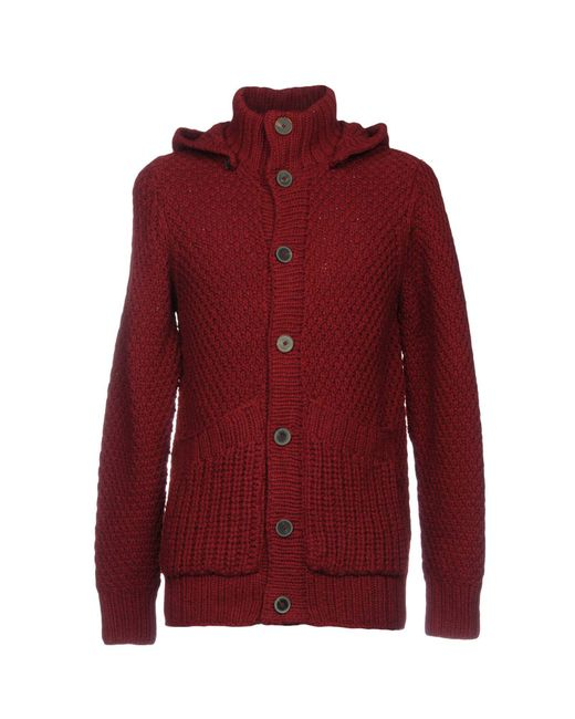 Heritage - Red Cardigans for Men - Lyst