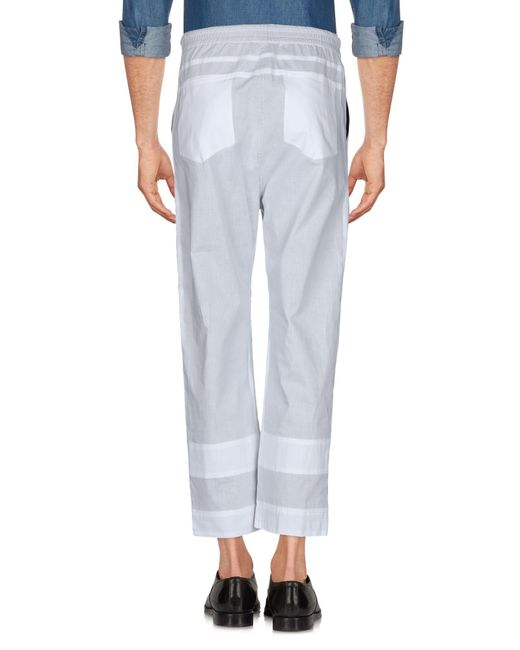 Craig Green Pantalon homme de coloris gris