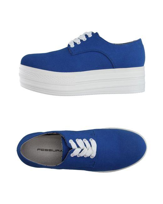 Fessura | Blue Low-tops & Sneakers | Lyst