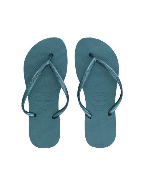 Havaianas - Blue Toe Strap Sandals - Lyst