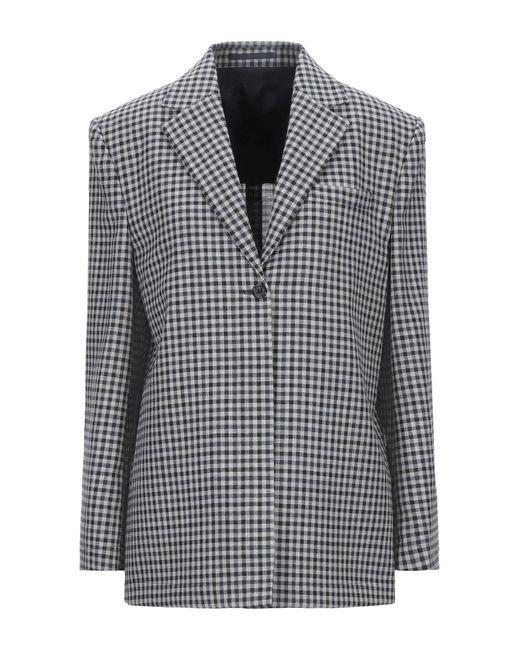 Wright Le Chapelain Blue Suit Jacket