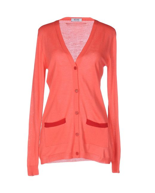 Boutique Moschino - Blue Cardigan - Lyst