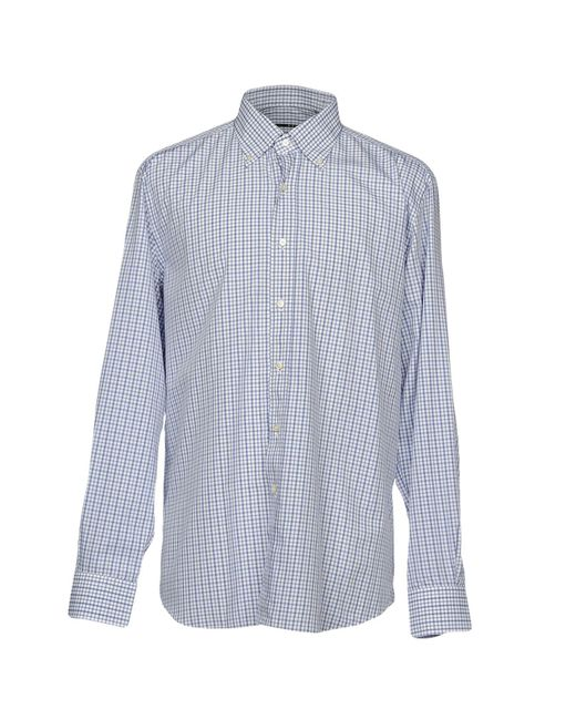 Xacus - Blue Shirts for Men - Lyst