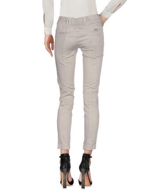 Liu Jo Gray Casual Pants