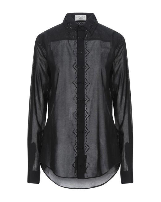 Camicia di Saint Laurent in Black