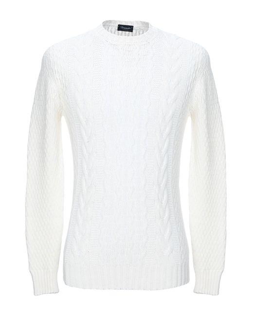 Pullover Drumohr de hombre de color White