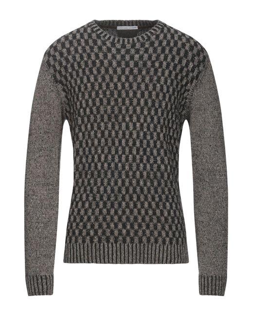 Grey Daniele Alessandrini Gray Jumper for men
