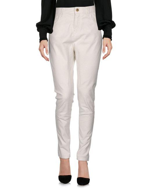 Pantalone di Manila Grace in White