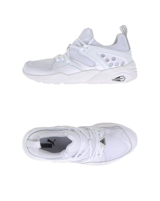 PUMA - White Low-tops & Sneakers - Lyst