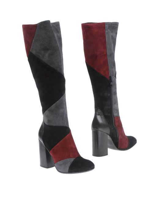 Janet & Janet - Gray Boots - Lyst