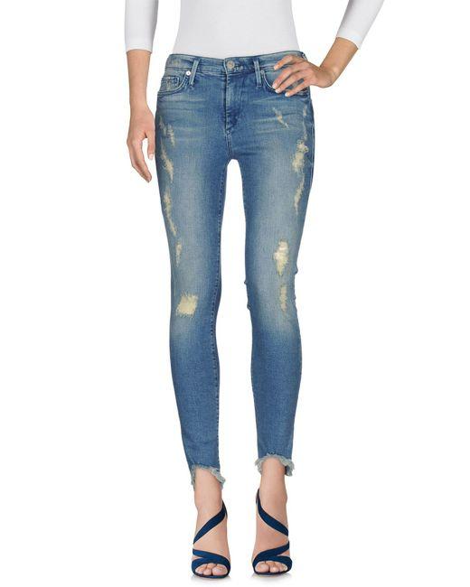 True Religion Blue Denim Trousers
