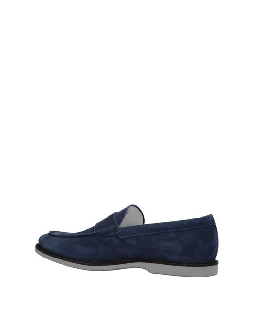 Hogan Blue Loafer for men
