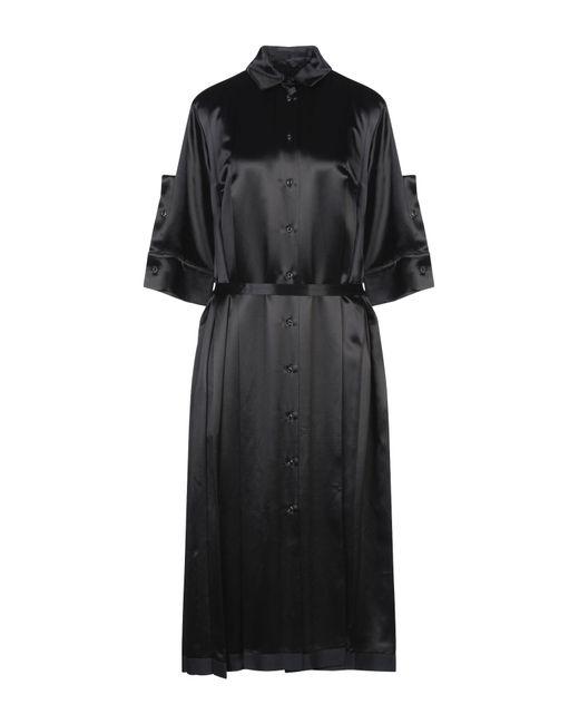Robe mi-longue Jil Sander en coloris Black
