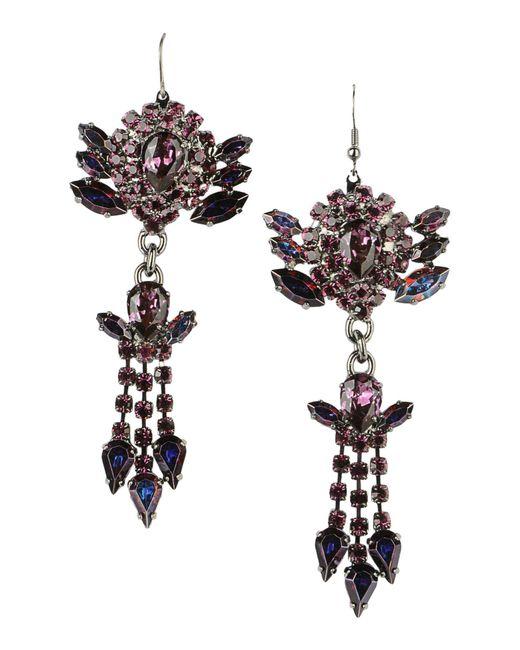 Emanuele Bicocchi - Purple Earrings - Lyst