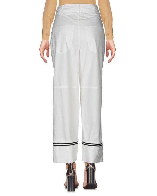 Pantalon Philosophy Di Lorenzo Serafini en coloris White