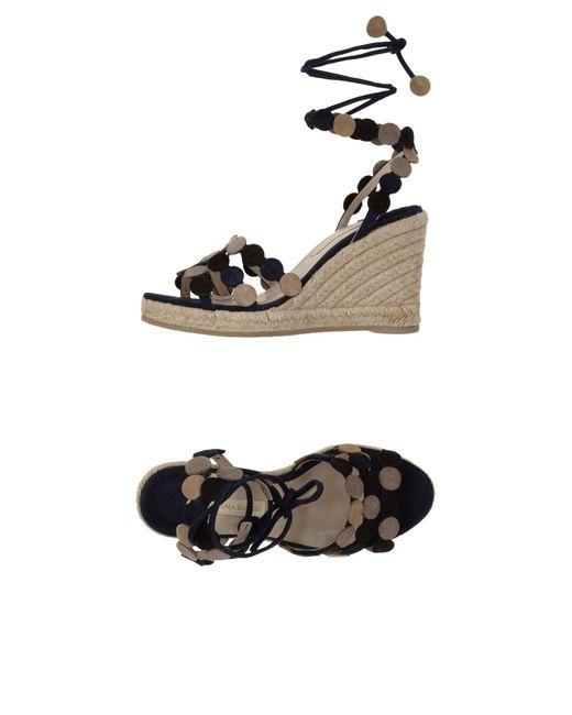 Paloma Barceló Blue Sandals
