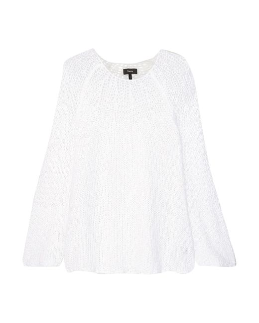 Theory White Jumper