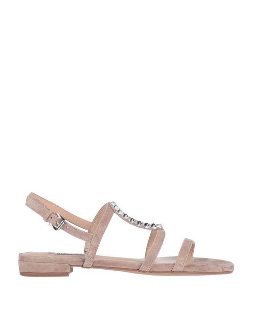 Bibi Lou Brown Sandals