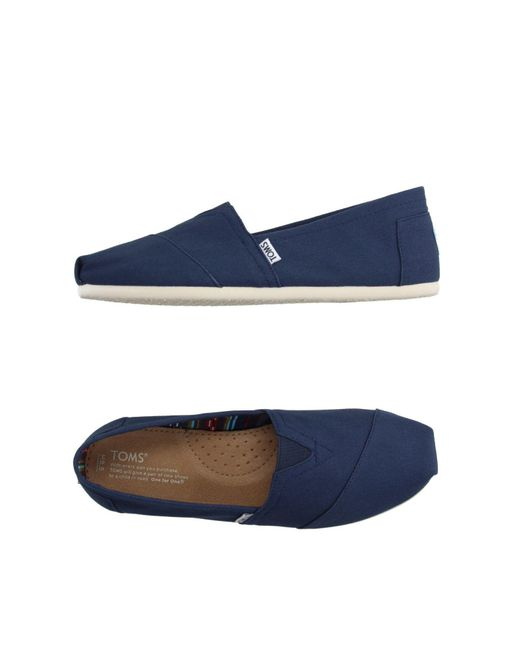 TOMS - Blue Low-tops & Sneakers for Men - Lyst